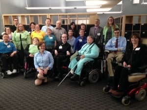 WeCo staff and testers represent jobs for disabled professionals.
