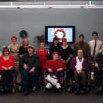 WeCo staff and consultants gathered together for holiday party 2014