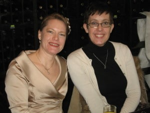 WeCo President, Lynn Wehrman pictured seated next to her sister, Heidi Swank.