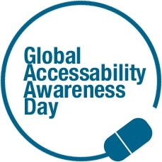Global Accessibility Awareness Day Logo