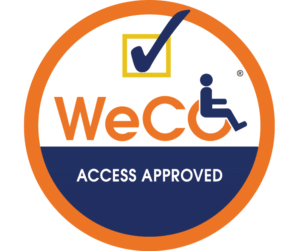 WeCo Access Approved Seal
