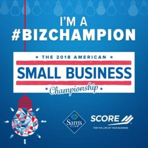 2018 SCORE Small Business Championship Badge