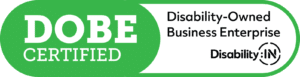 Disability Owned Business Enterprise logo from Disaebility:IN